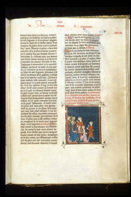 Philip Augustus from BL Royal 16 G VI, f. 354