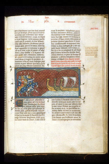 Philip Augustus from BL Royal 16 G VI, f. 373