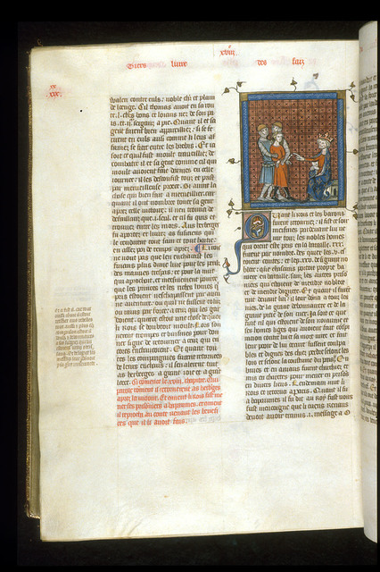 Philip Augustus from BL Royal 16 G VI, f. 382v