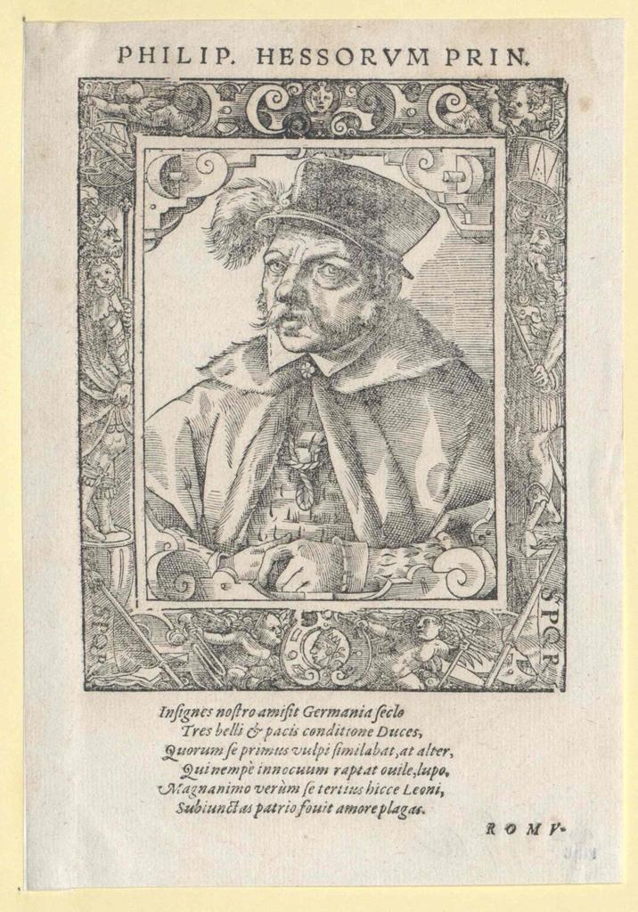 Philipp I. der Großmütige, Landgraf von Hessen