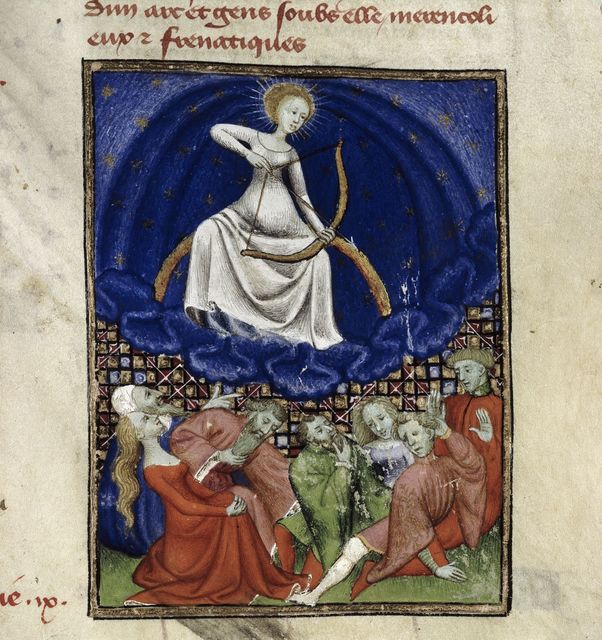 Phoebe from BL Harley 4431, f. 101