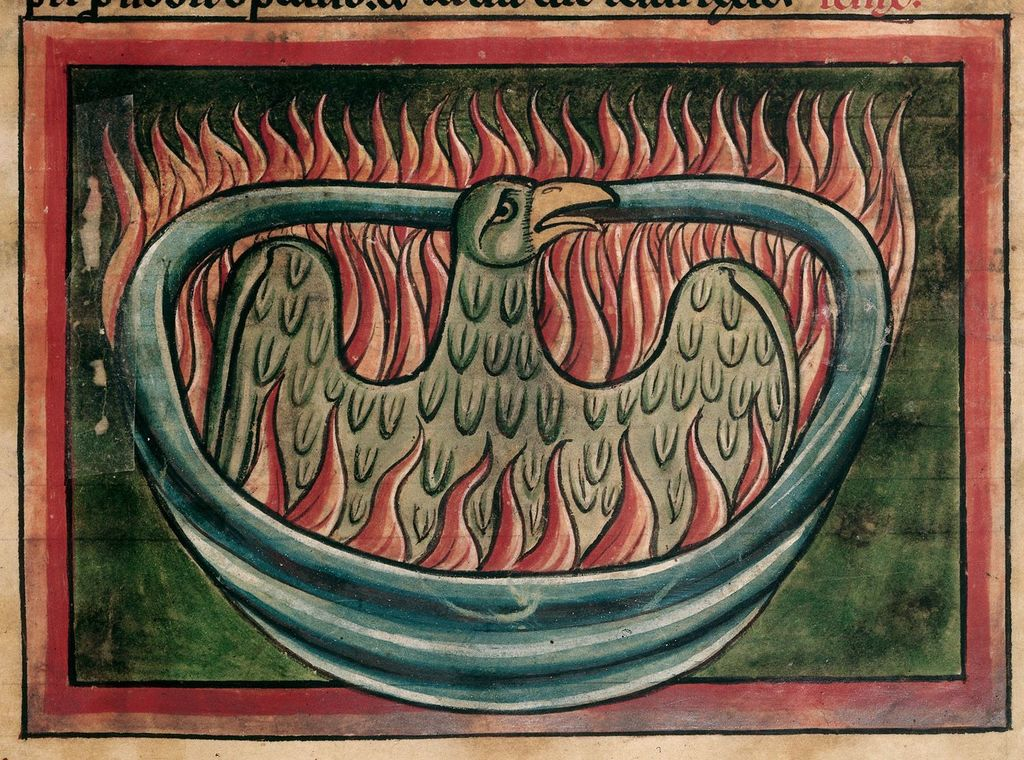 Phoenix from BL Harley 4751, f. 45