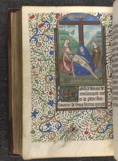 Pietà from BL Sloane 2803, f. 192v