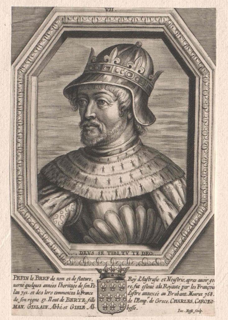 Pippin der Jüngere, König der Franken
