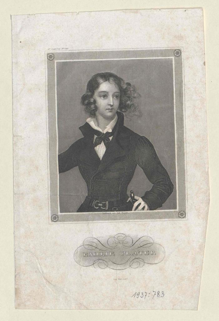Plater, Emilie (Emilia) Gräfin von