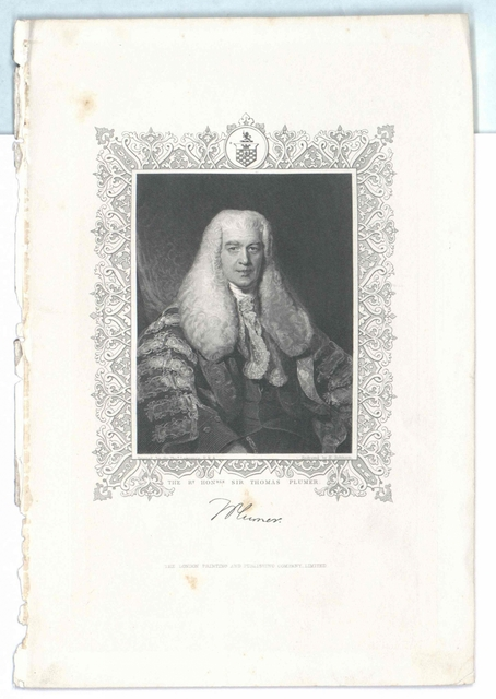 Plumer, Sir Thomas