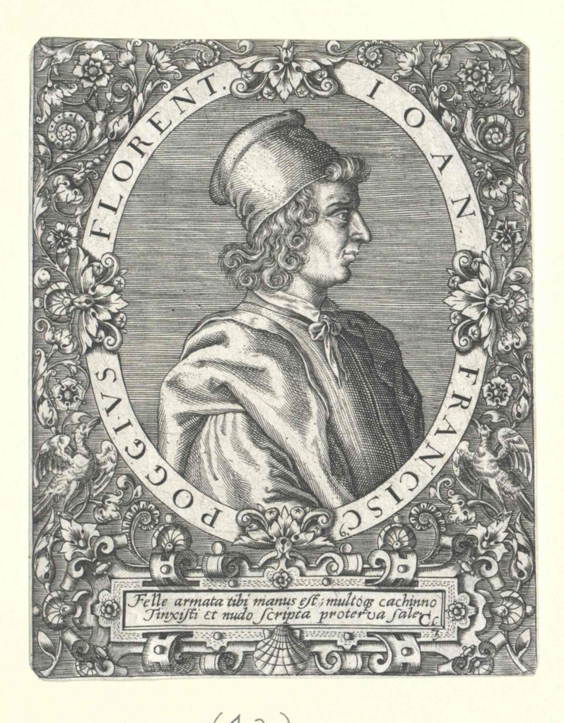 Poggio Bracciolini, Gian-Francesco