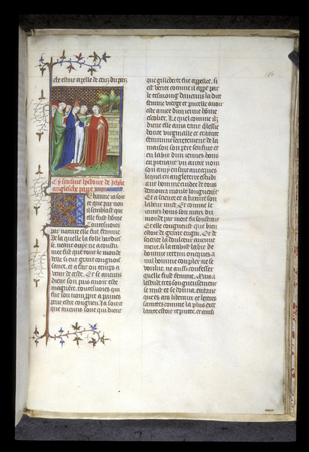 Pope Joan from BL Royal 20 C V, f. 156