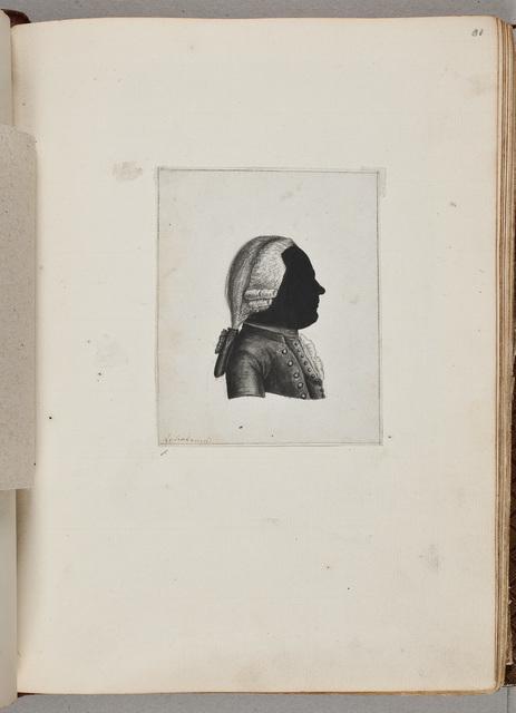 Portret van een onbekende man / door David Ruhnkenius (1723-1798)
