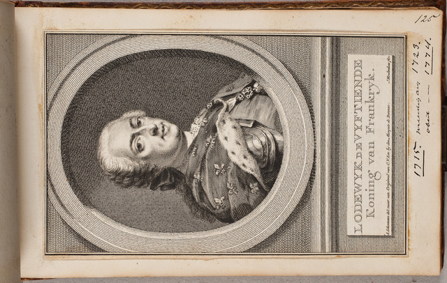 Portret van Lodewijk XV, koning van Frankrijk (1710-1774) / door J[acob] Houbraken (1698-1780) en A[ert] Schouman (1710-1792) naar origineel in bezit van [Jean Louis de Usson] markies van Bonnac (1672-1738)