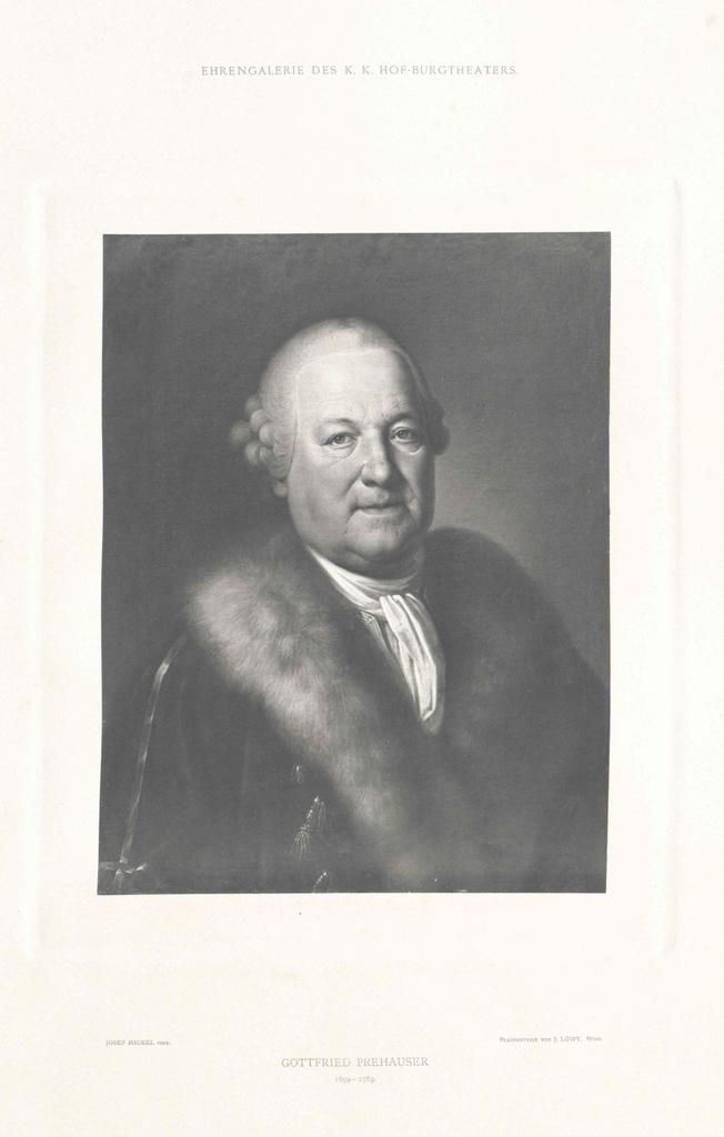 Prehauser, Gottfried