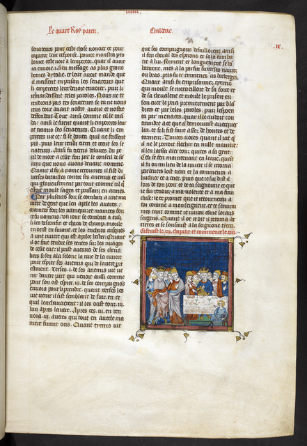 Ptolemy from BL Royal 16 G VI, f. 11
