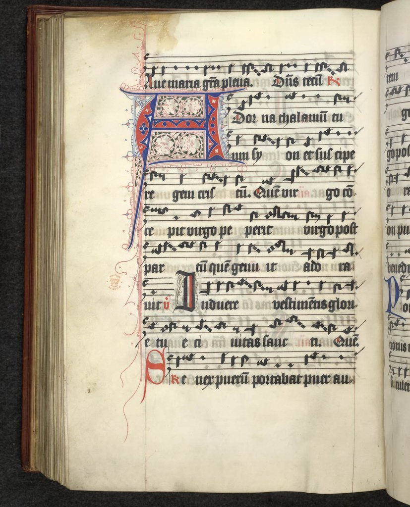 Puzzle initial from BL Lansdowne 460, f. 191v
