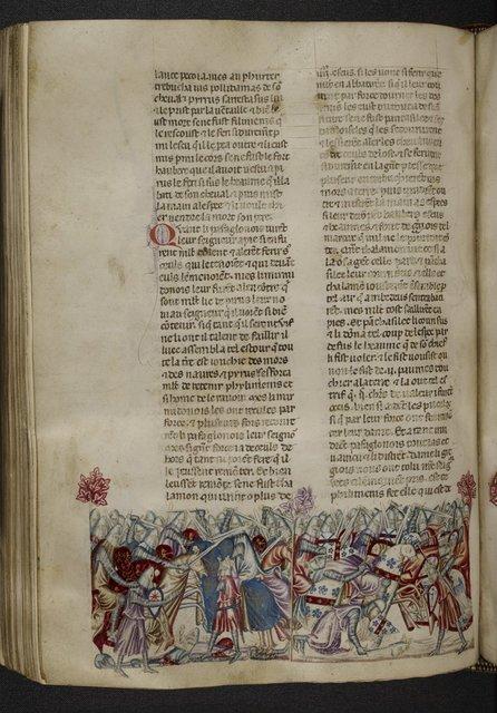 Pyrrhus from BL Royal 20 D I, f. 156v