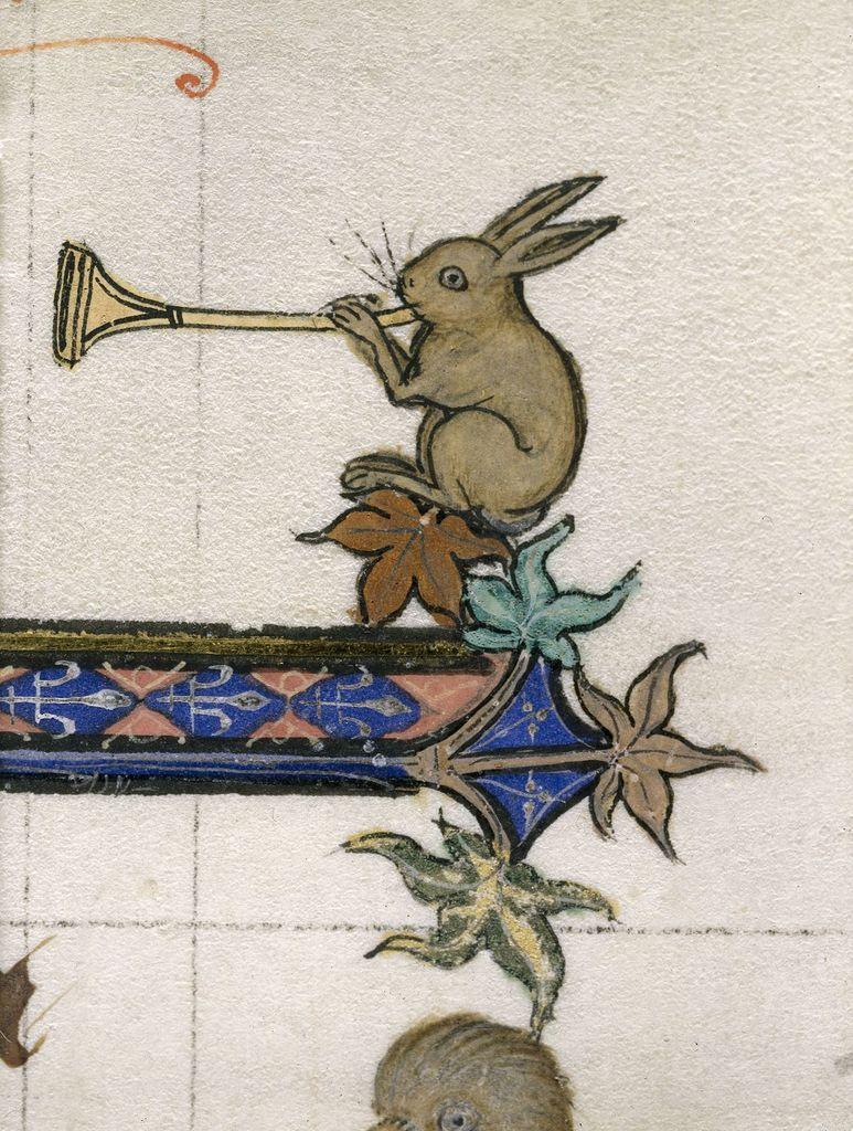 Rabbit from BL Royal 3 D VI, f. 234