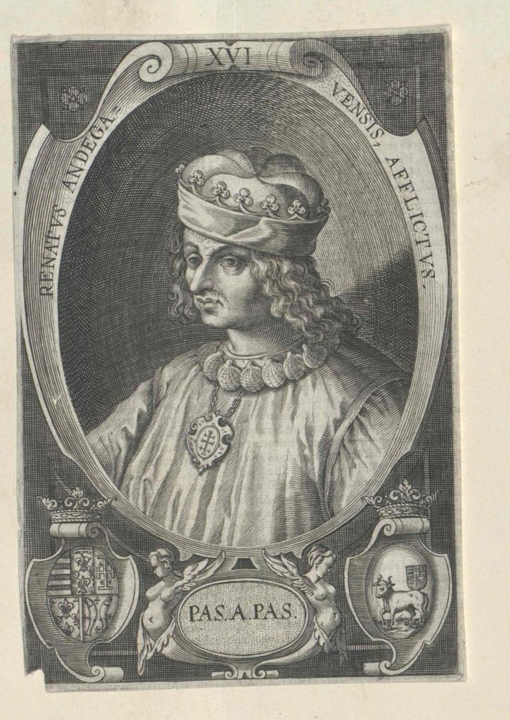 René I., Herzog von Anjou, Titularkönig von Neapel und Jerusalem