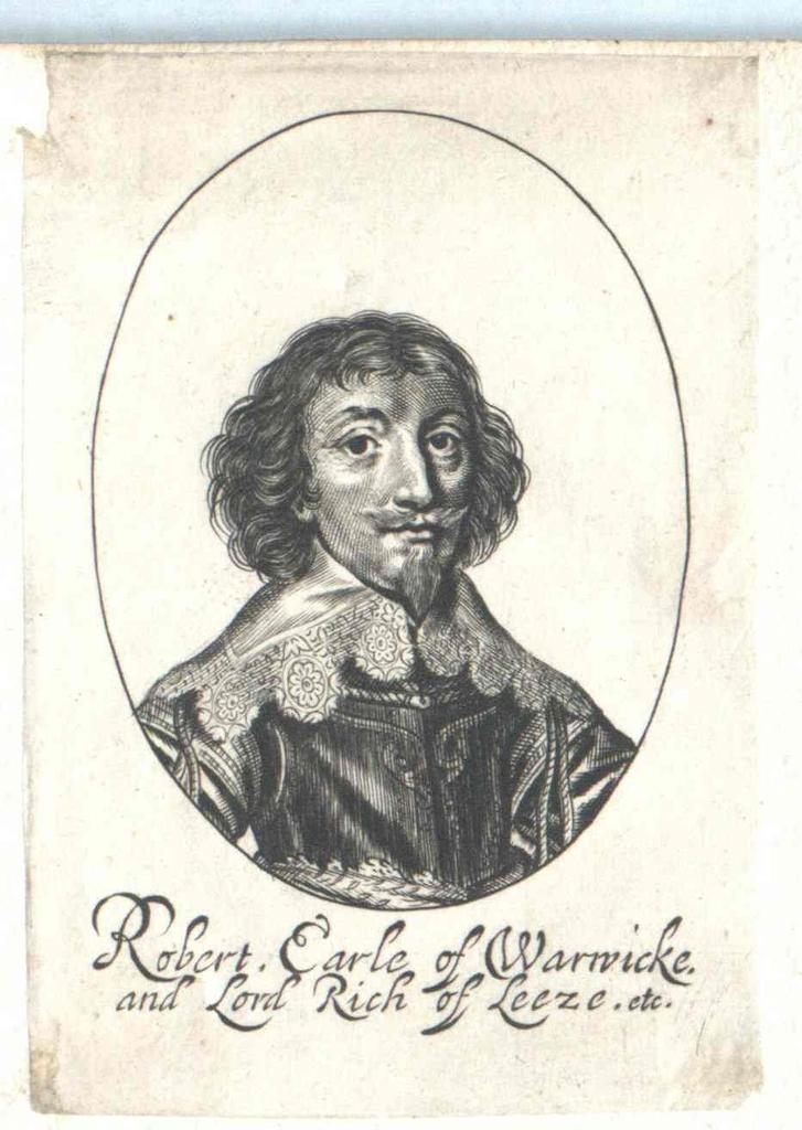 Rich, 2. Earl of Warwick, Robert
