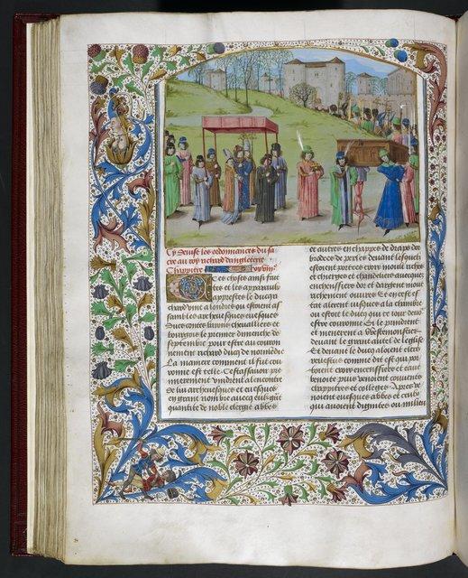 Richard I from BL Royal 15 E IV, f. 257v