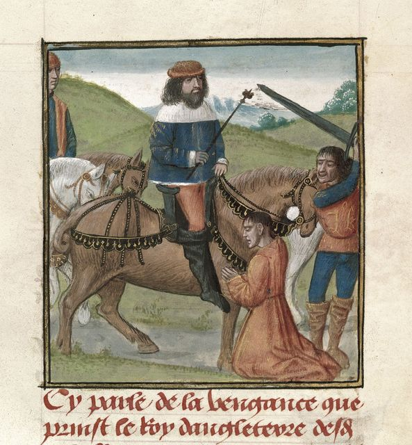 Richard II from BL Royal 14 E IV, f. 98v