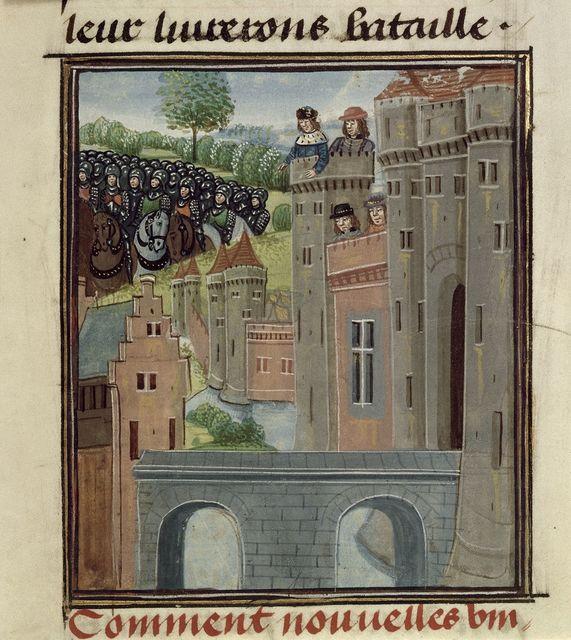 Richard II from BL Royal 18 E II, f. 393
