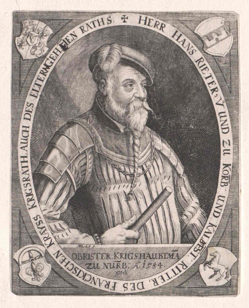 Rieter von Kornburg und Kalbensteinberg, Hanns