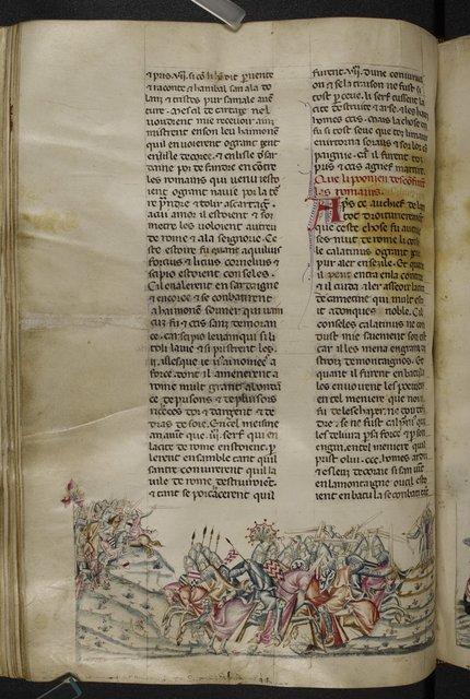 Romans from BL Royal 20 D I, f. 257v