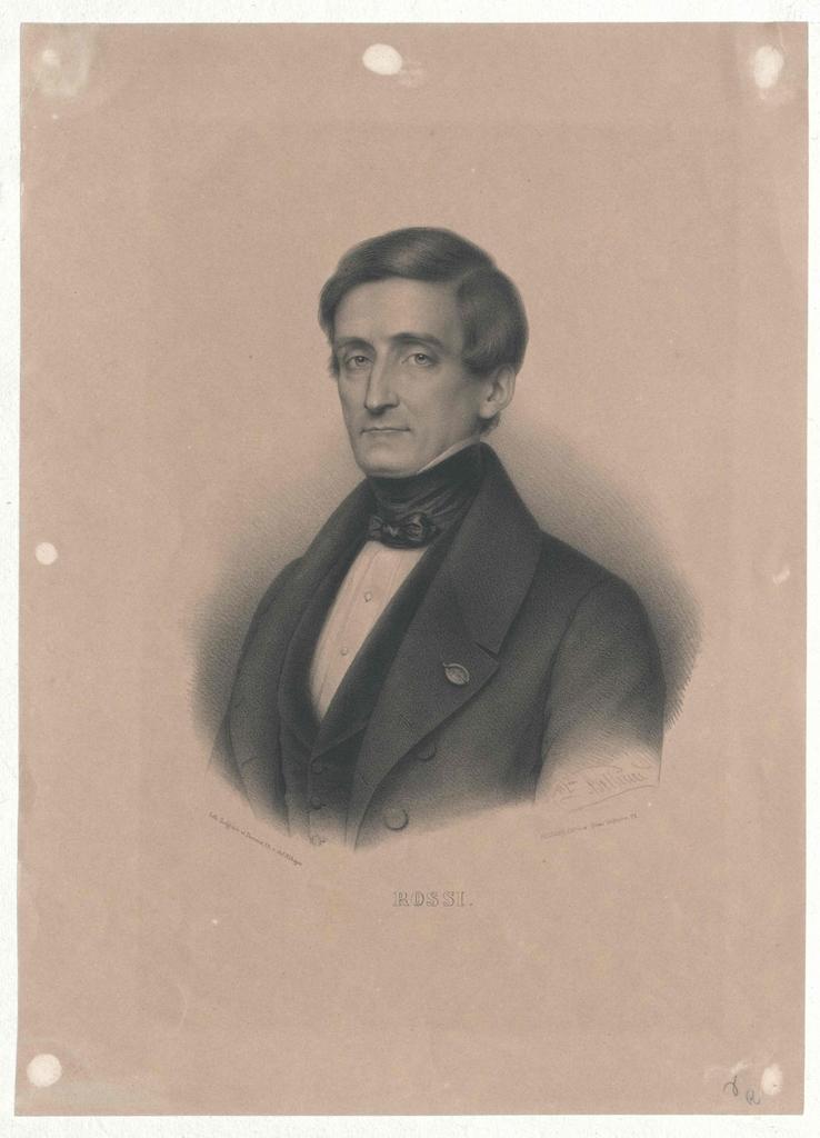 Rossi, Pellegrino Luigi Edoardo