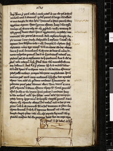 Run-over mark from BL Harley 228, f. 129