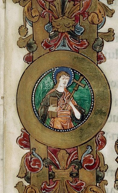 Saint from BL Royal 1 D IX, f. 111