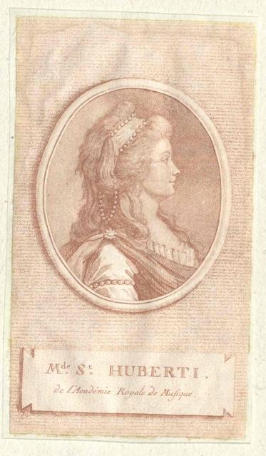 Saint-Huberti, Antoinette Cécile Clavel de