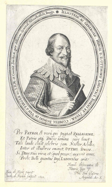Salm, Wild- und Rheingraf in Kyrburg, Otto Ludwig Graf von