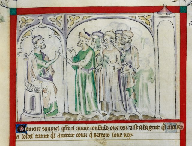 Samuel from BL Royal 2 B VII, f. 50