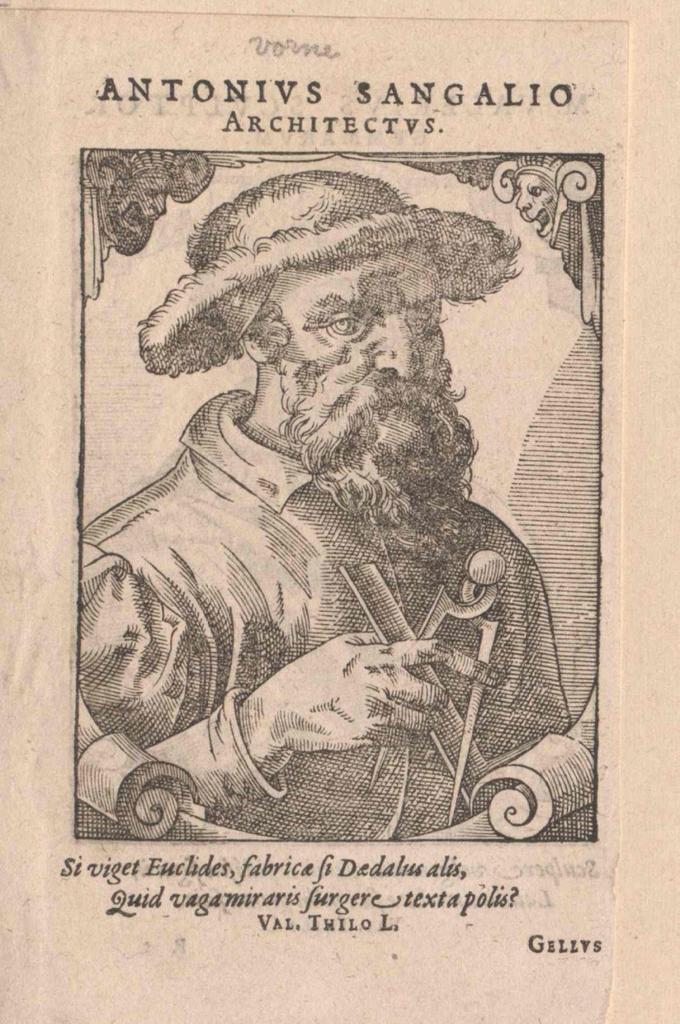 Sangallo, Antonio da