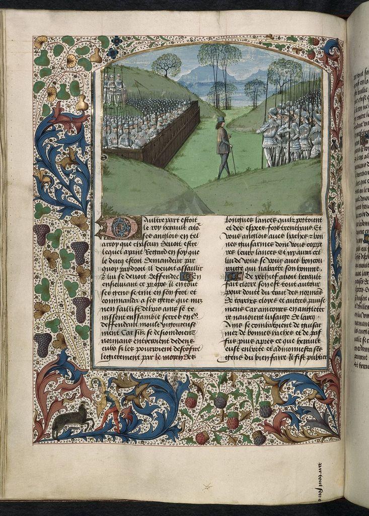 Saxon stockade from BL Royal 15 E IV, f. 231v