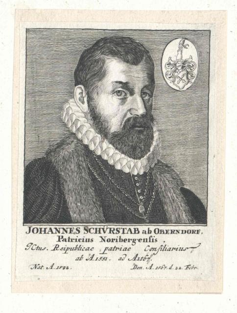 Schürstab von Oberndorf, Johann