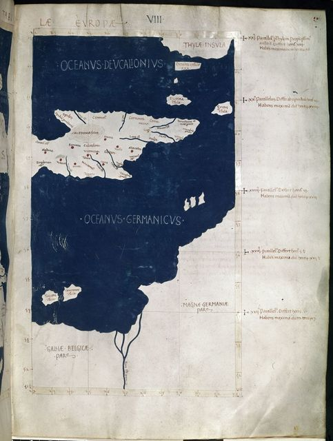 Scotland, Belgium and Germany from BL Harley 7182, f. 61