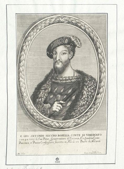 Secco Borella, Giovanni Antonio
