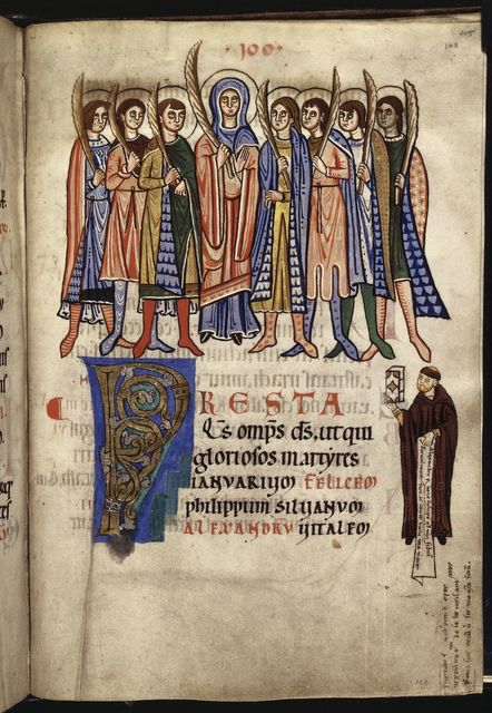 Seven brothers from BL YT 2, f. 103