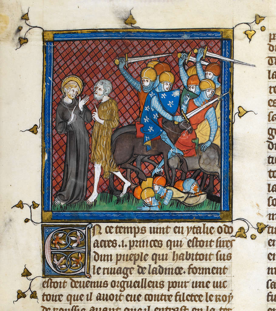 Severinus from BL Royal 16 G VI, f. 10
