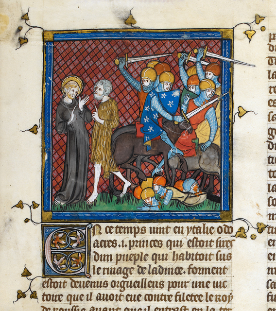 Severinus from BL Royal 16 G VI, f. 10