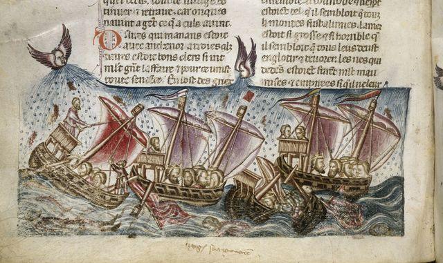 Ships from BL Royal 20 D I, f. 176v