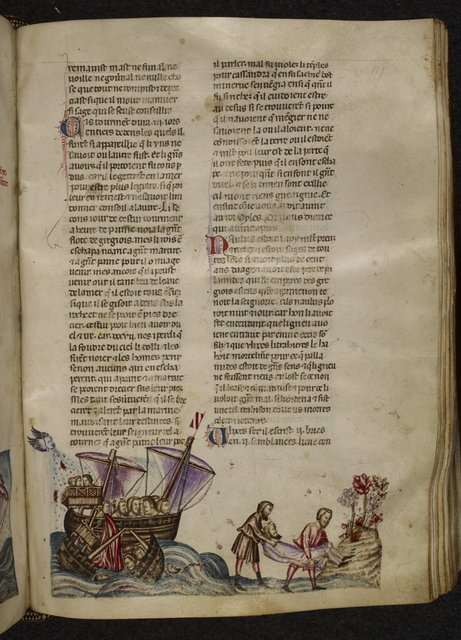 Shipwreck from BL Royal 20 D I, f. 177
