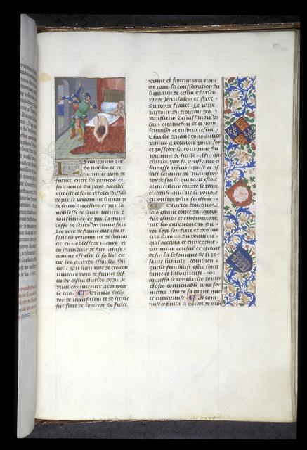 Sicilian Vespers from BL Royal 14 E V, f. 488