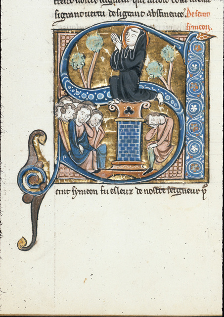 Simeon from BL Royal 20 D VI, f. 222v