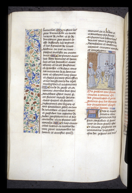 Simon Maccabeus from BL Royal 15 D I, f. 161v