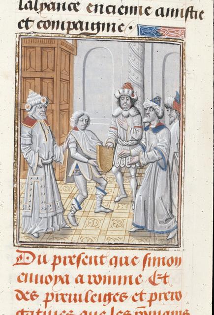 Simon Maccabeus from BL Royal 15 D I, f. 161v