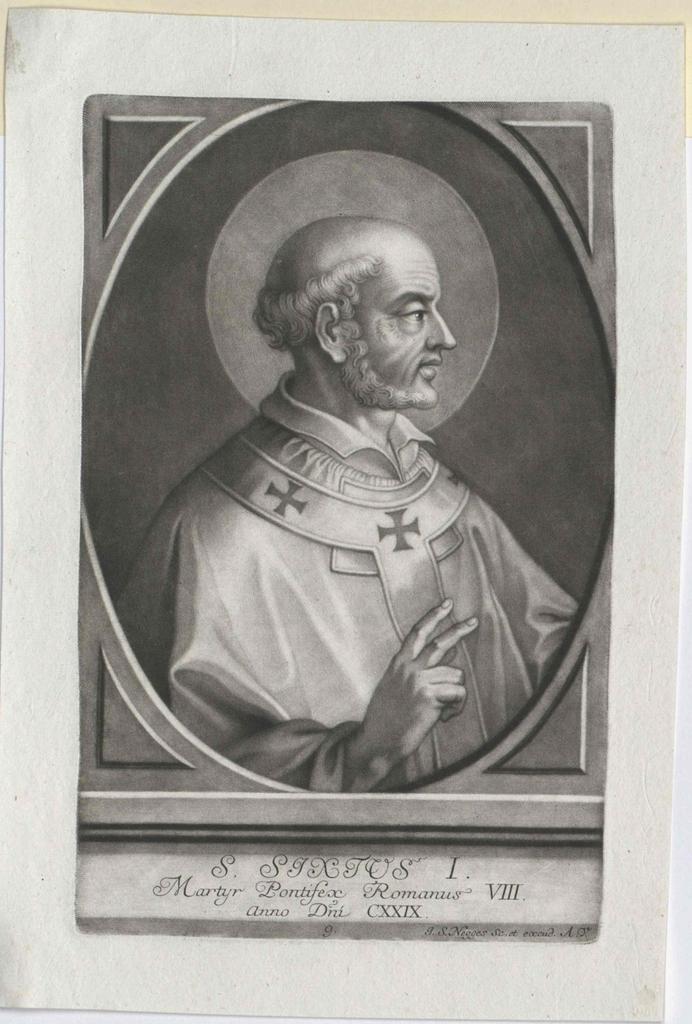Sixtus I., papa