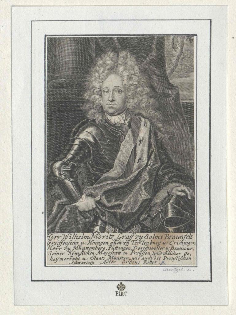 Solms-Braunfels, Wilhelm Moritz Graf zu