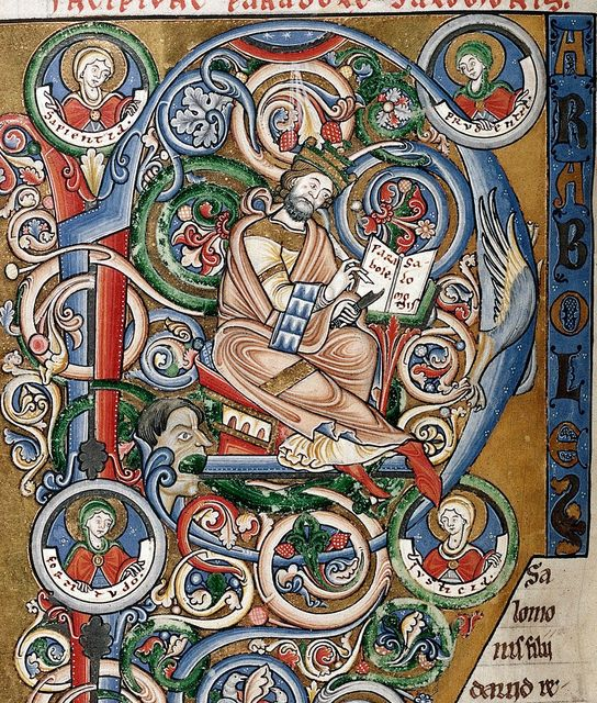 Solomon from BL Harley 2799, f. 57v