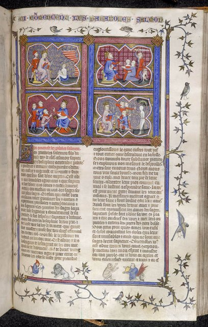Solomon from BL Royal 19 D II, f. 273